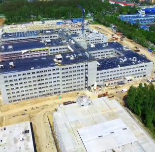 Budowa Uniwersyteckiego Szpitala Klinicznego w Krakowie