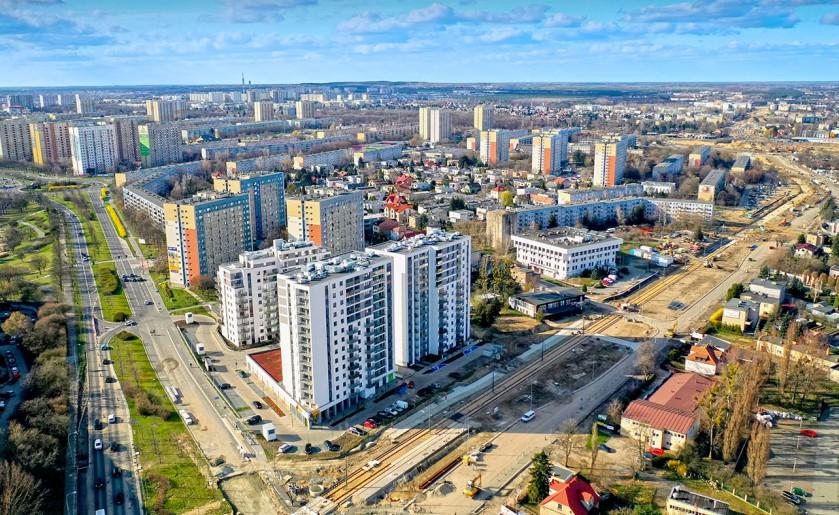 [Poznań] Budowa trasy tramwajowej na Naramowice [02.04.2021]